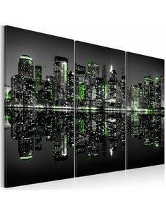 Tableau GREEN NEW YORK - par Artgeist