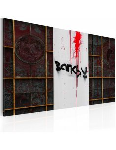 Tableau SANG Bansky - par Artgeist