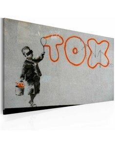 Tableau PAPIER PEINT GRAFFITI Bansky - par Artgeist