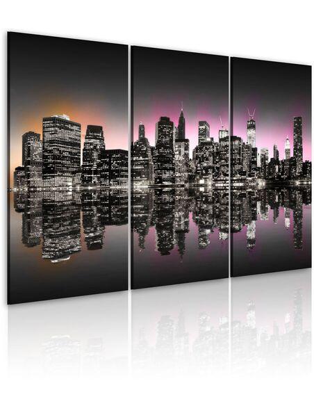 Tableau LA VILLE QUI NE DORT JAMAIS NEW YORK - par Artgeist