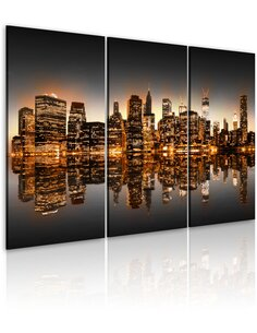 Tableau INSPIRÉ PAR NYC - par Artgeist
