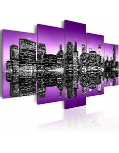 Tableau AVANT-GARDE DE NEW YORK 5 pièces - par Artgeist