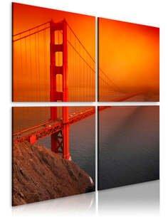 Tableau PONT DU GOLDEN GATE: SAN FRANCISCO - par Artgeist