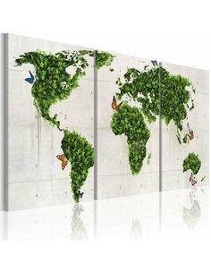 Tableau Terres Vertes  - par Artgeist
