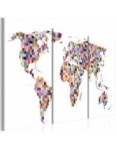 Tableau DIGITAL WORLD - par Artgeist