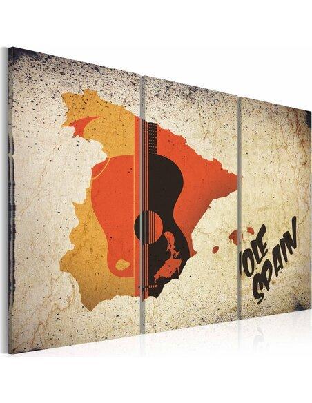 Tableau Triptyque - ¡Olé! Spain - Triptych - par Artgeist