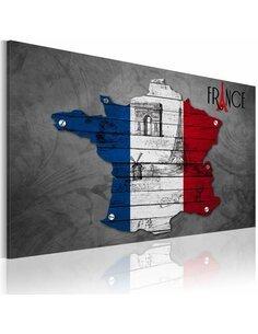 Tableau SYMBOLES DE LA FRANCE - par Artgeist