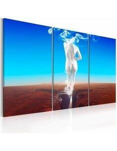 Tableau Triptyque - Creation of woman - triptych - par Artgeist