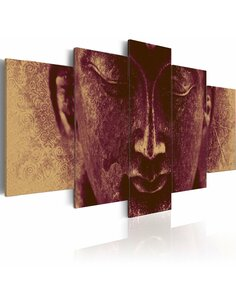 Tableau - 5 tableaux - Enlightened Buddha - Zen par Artgeist