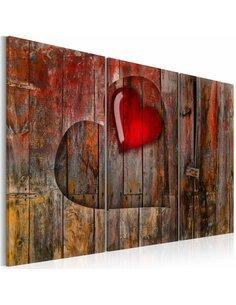 Tableau HEART TO HEART - par Artgeist