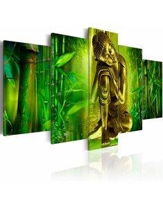 Tableau - 5 tableaux - Jeune Bouddha - par Artgeist