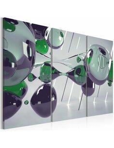 Tableau Triptyque - Mystification de verre - par Artgeist