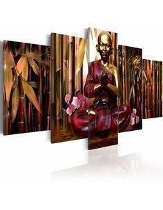 Tableau - 5 tableaux - Bamboo temple - par Artgeist
