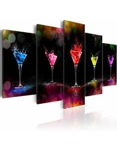 Tableau - 5 tableaux - Martini - par Artgeist