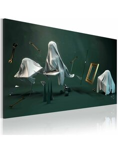 Tableau La Chambre Hantée  Abstractions Artgeist