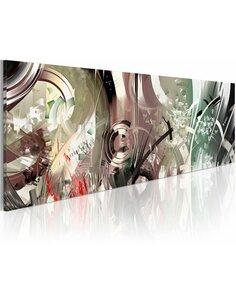 Tableau Panoramique - sculpture de glace - par Artgeist