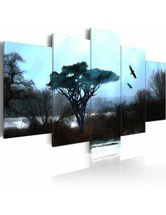 Tableau - 5 tableaux - Voix de nature - par Artgeist
