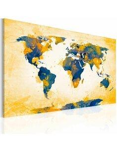 Tableau FOUR CORNERS OF THE WORLD - par Artgeist