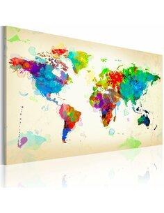 Tableau ALL COLORS OF THE WORLD - par Artgeist