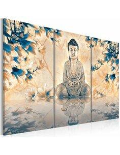 Tableau Triptyque - Rite bouddhiste Zen Artgeist