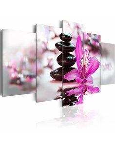 Tableau - 5 tableaux - La pureté et la beauté Zen Artgeist