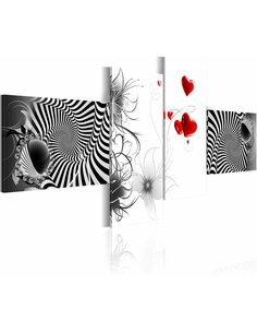 Tableau - 4 tableaux - Love turbulence - par Artgeist