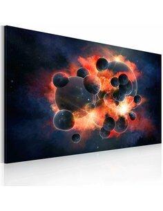 Tableau Explosion Cosmique  - par Artgeist