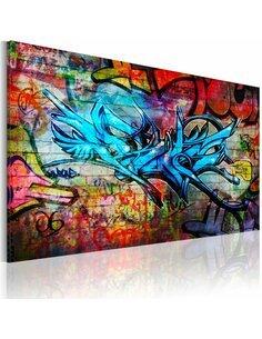 Tableau ANONYMOUS GRAFFITI - par Artgeist