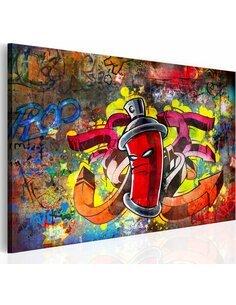 Tableau Graffiti Master  Art urbain Artgeist