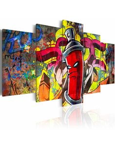 Tableau ANGRY SPRAY CAN - par Artgeist