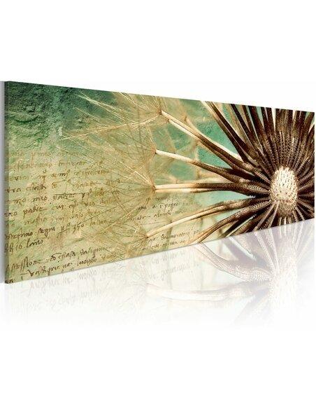 Tableau Panoramique - Poésie éphémère Fleurs variées Artgeist