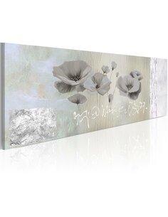 Tableau Panoramique - Poppies in hibernation - par Artgeist