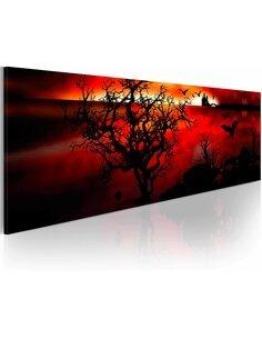 Tableau Panoramique - Marais noirs - par Artgeist