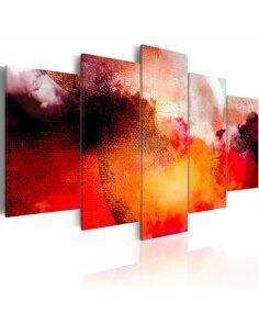 Tableau - 5 tableaux - Hot sun Abstractions Artgeist