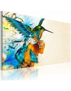 Tableau BIRD'S MUSIC - par Artgeist