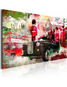 Tableau MÉMOIRES DE LONDRES - par Artgeist
