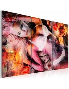 Tableau Triptyque - Blond bombshell - par Artgeist