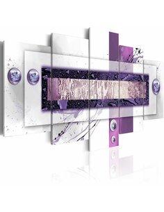 Tableau - 5 tableaux - Balance violette - par Artgeist