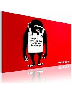 Tableau Laugh Now  - Art urbain par Artgeist