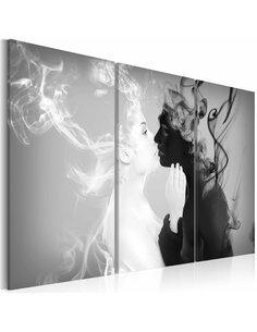 Tableau SMOKY KISS - par Artgeist