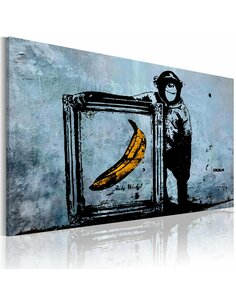 Tableau INSPIRED BY BANKSY - Art urbain par Artgeist