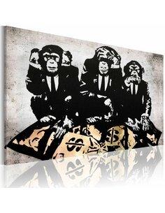 Tableau Money Problem  Art urbain Artgeist
