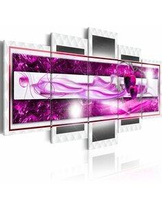 Tableau - 5 tableaux - Pink lust - par Artgeist