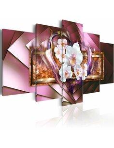 Tableau - 5 tableaux - In flames - par Artgeist