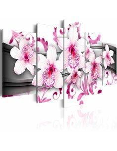 Tableau - 5 tableaux - Pleasure of pink - par Artgeist