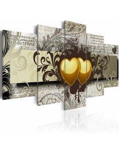 Tableau - 5 tableaux - Tainted love - par Artgeist