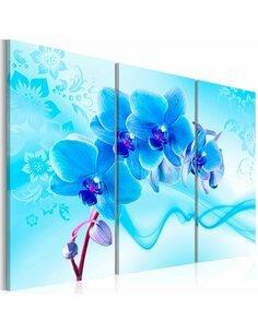 Tableau ETHEREAL ORCHID BLUE - par Artgeist