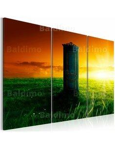 Tableau Triptyque - Enchanted door - par Artgeist
