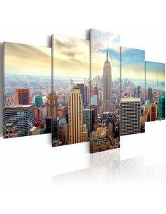 Tableau - 5 tableaux - Morning in New York City New York Artgeist