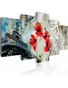 Tableau MEMORIES OF PARIS - par Artgeist